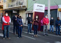 Gobierno de la Ciudad entrega las calles 13 y 15 Oriente-Poniente con nuevo pavimento