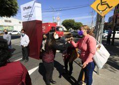 Reinaugura Ayuntamiento de Puebla la avenida 14 Sur tras rehabilitación integral