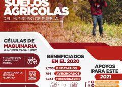Con Programa de Mecanización para Ejidatarios, Ayuntamiento de Puebla rescata el campo