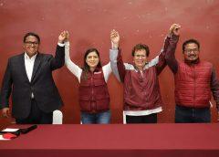 «Claudia Rivera es un ejemplo a nivel nacional de trabajo honesto y cercano a la gente»
