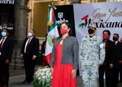 Ayuntamiento de Puebla inicia actividades del mes patrio